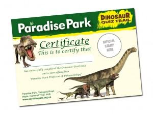 Dinosaur Quiz Trail