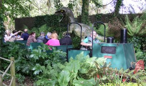 Jungle Express Train in Dinosaur country