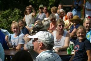 Kookaburra at Free Flying Bird Show Paradise