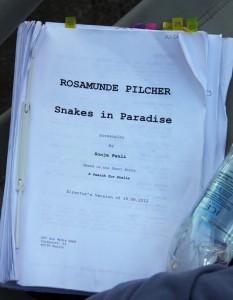 Rosamunde Pilcher filming script