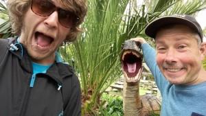 Dinosaur Selfie