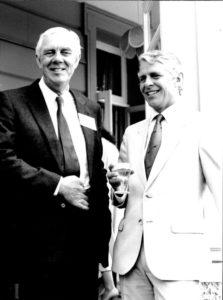 Mike Reynolds and Robin Hanbury Tenison