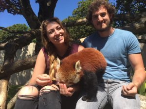 Nikki and Rich meet the Red Pandas at Paradise Park
