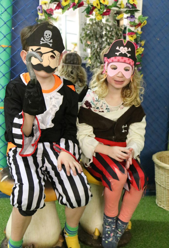 Dress up as pirate at Paradise Park in Hayle this Half Term