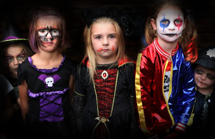 Halloween Disco dressing up at Paradise Park in Hayle B