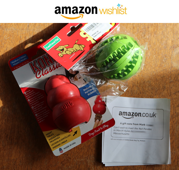 Amazon Wish List donation