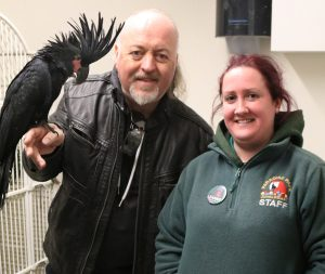 Bill Bailey, Herbert & Leanne at Paradise Park