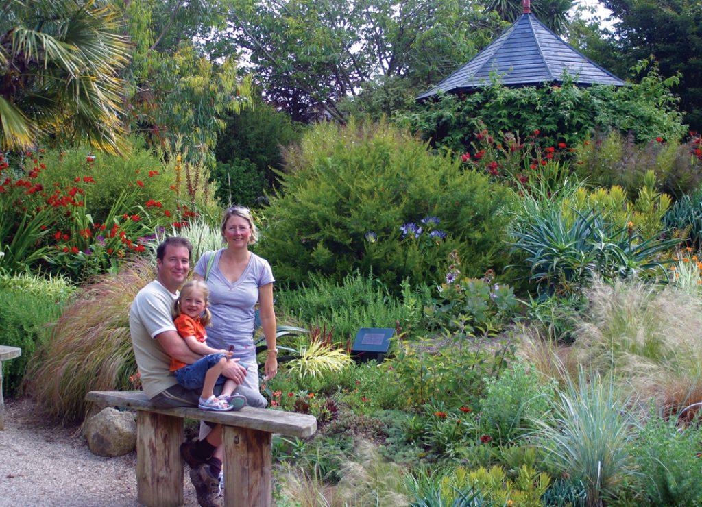 Gazebo Garden Paradise Park Hayle Cornwall