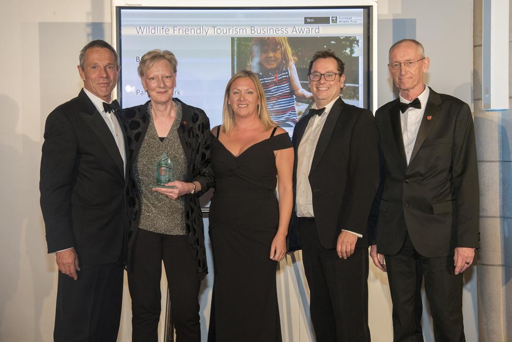 Winners of Bronze Wildlife Friendly Tourism Business Award
