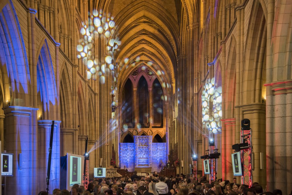Truro Catherdral Cornwall Tourism Awards 2018