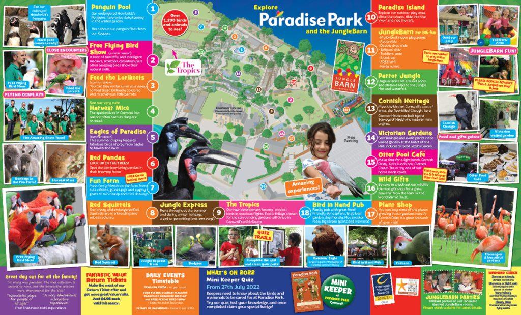 Paradise Park Map
