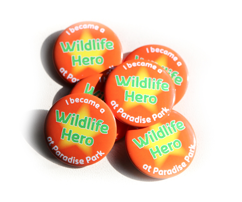 Wildlife Hero Badges