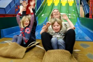 JungleBarn indoor play fun at Paradise Park Cornwall