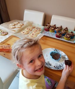 Summer making cakes to fundraise for Vultures