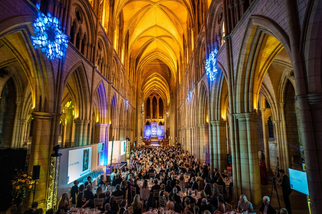 Truro Cathedral awards night