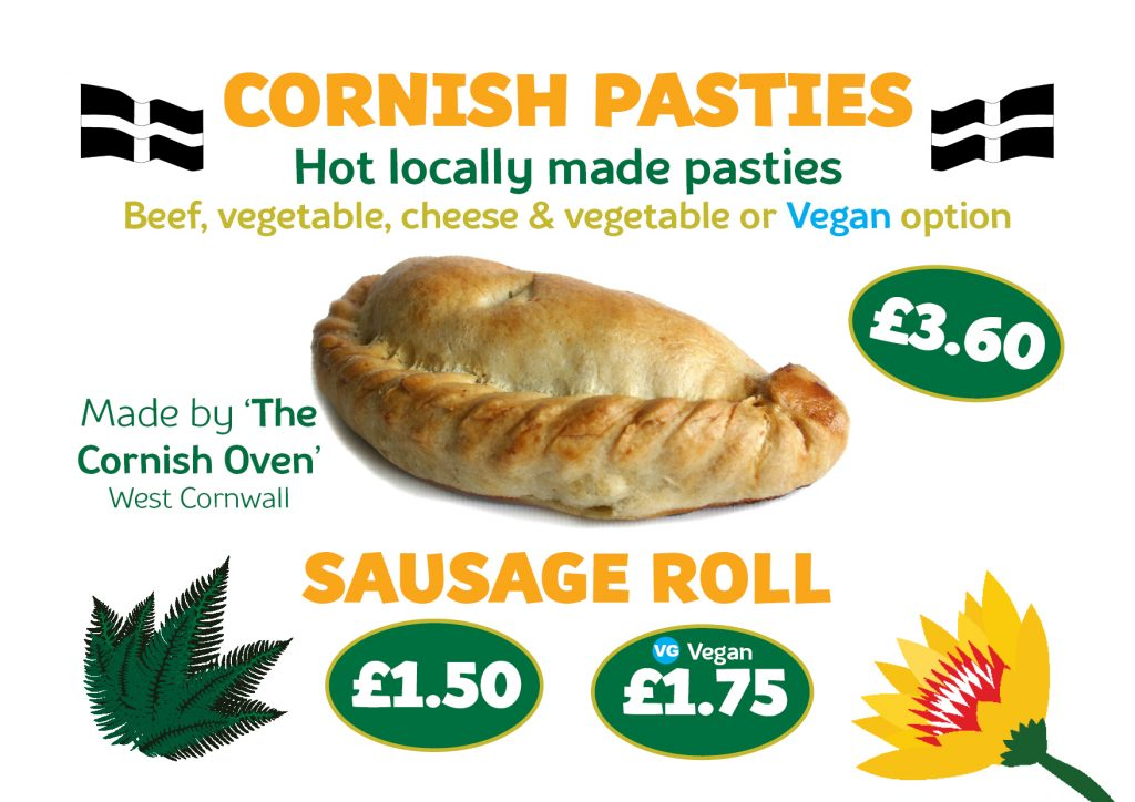 Winter Pasty and Sausage Rolls 2020
