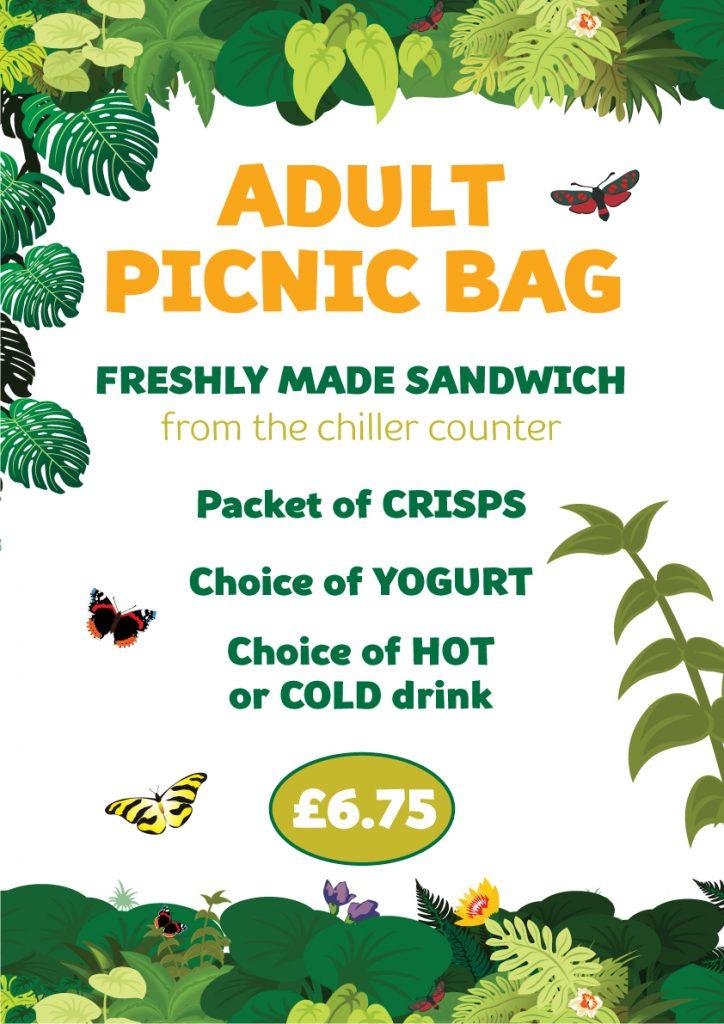 Cafe ADULTS Picnic Bag 2021