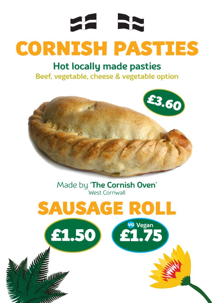Cafe Pasty and Sausage Rolls 2021